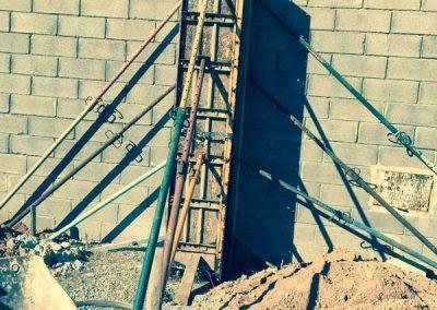Pared en construcción