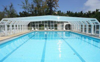 Selecciona la mejor piscina disponible