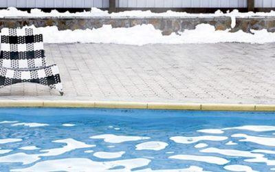 En invierno, mantén en buen estado tu piscina
