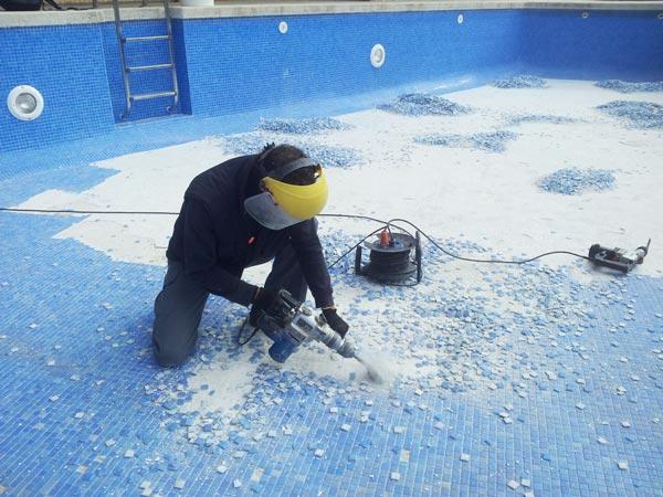 mantenimiento de piscinas en Torredembarra reparacion piscinas