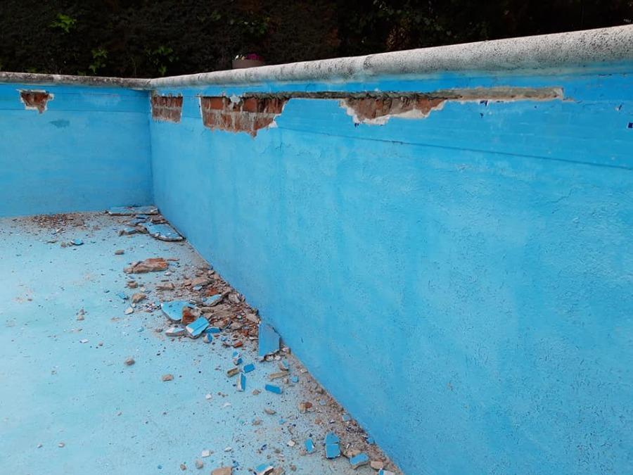 Como reparar una piscina de obra