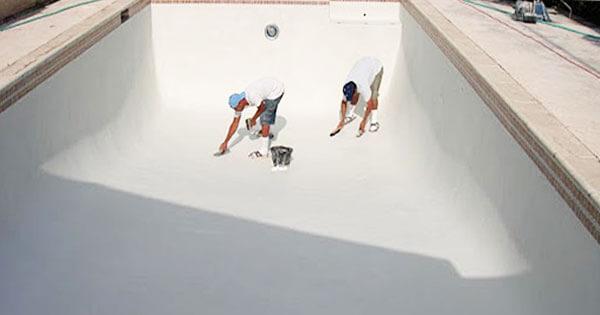 rehabilitar vaso piscina replasterizar pintura piscina
